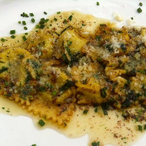 Asparagus & Goat Cheese Agnolotti @ Barbrix