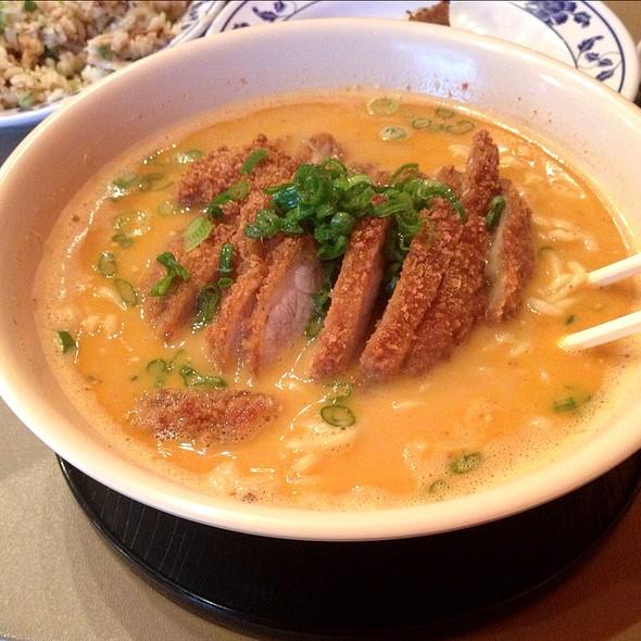 Pork Katsu Tan Tan Ramen @ Aloha Ramen