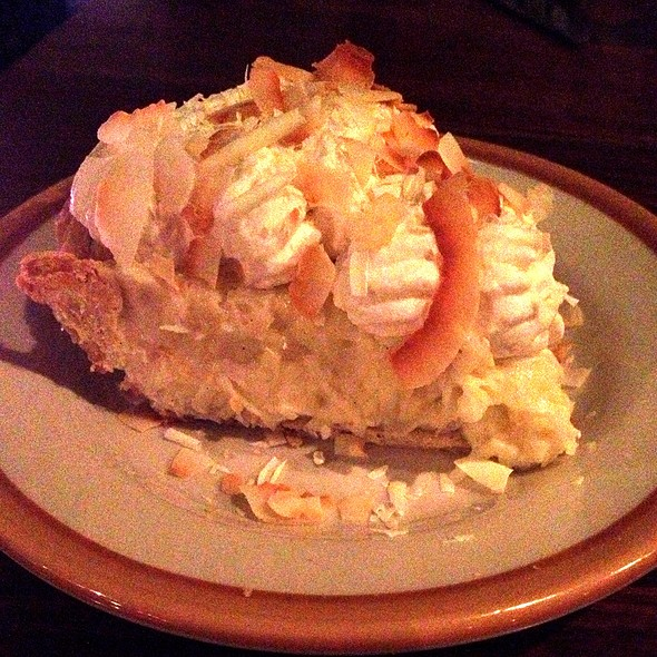 Triple Coconut C @ Serious Pie