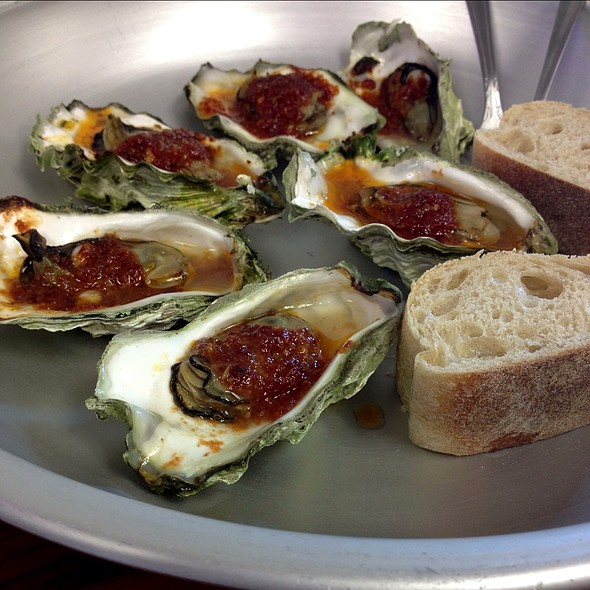 Baked Oysters @ Hama Hama Seafood Co