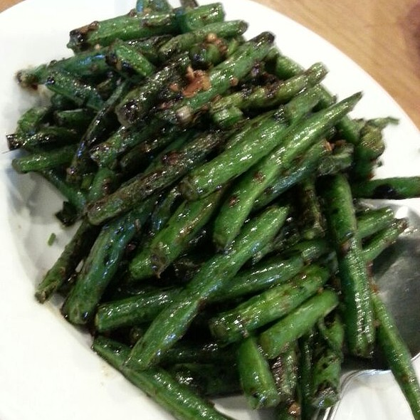 Dried String Beans @ Little Village Noodle House