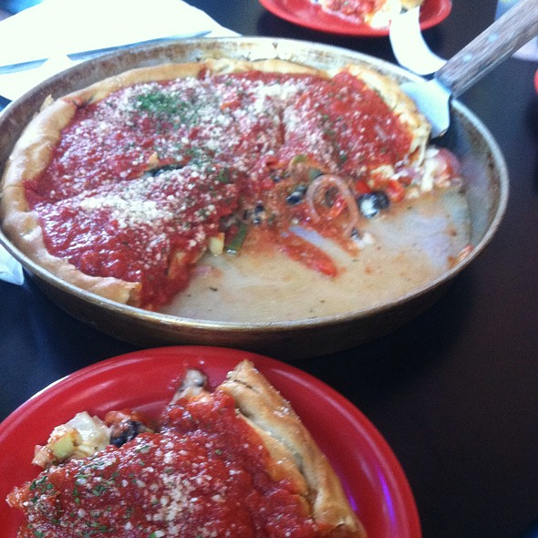 St. Anthony Pizza @ Sparrow's Pies and Spirits