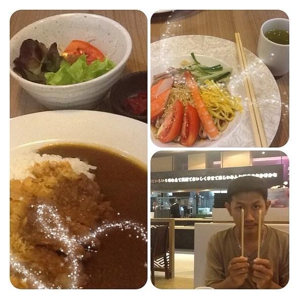 ข้าวหน้าแกงกะหรี่หมูทอด @ Fumi Japanese Cuisine