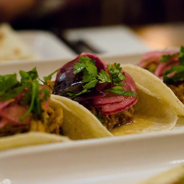 Pork Pibil Taco