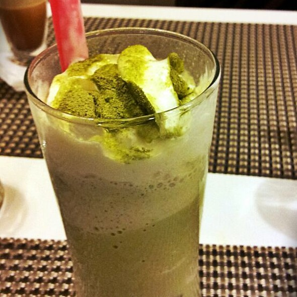 Ice Blended Green Tea @ 3G food gallery