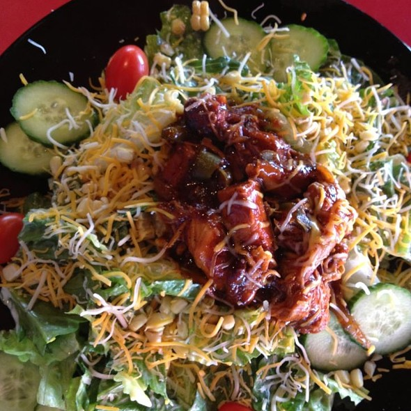 BBQ Chicken Salad - Mother's Federal Hill Grille, Baltimore, MD