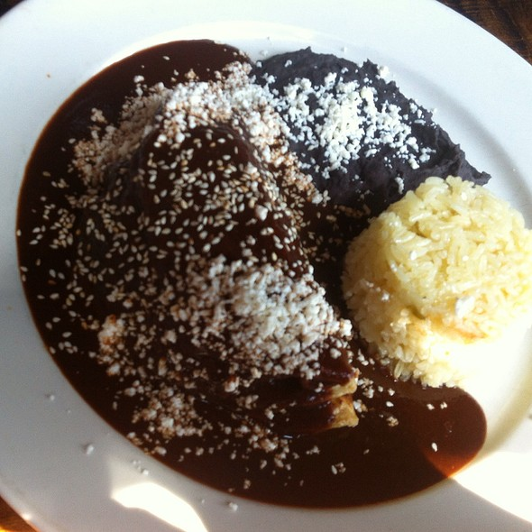 Enchiladas De Mole @ Zapata
