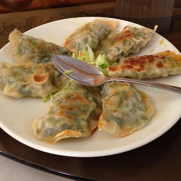 Shrimp And Chives Dumplings @ Four Seas Restaurant