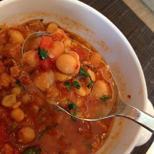 Chickpea And Chorizo Soup - Edge, Steak + Bar, Miami, FL