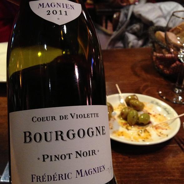 Wine @ Restaurant Le Bistro Marbeuf