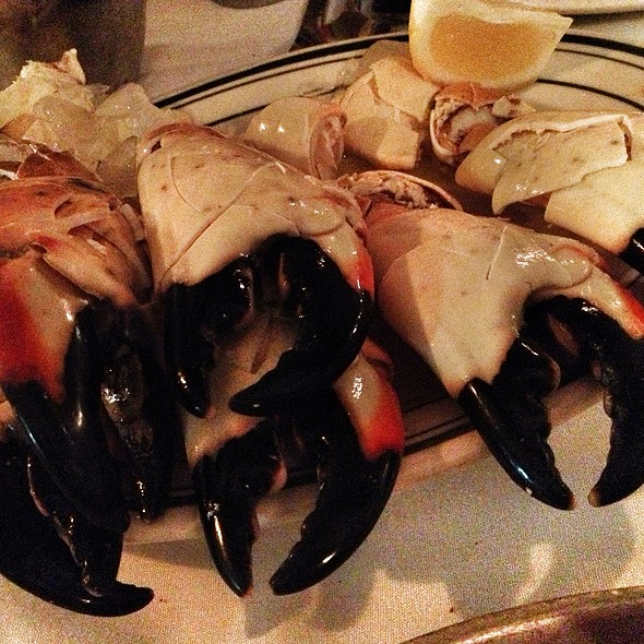 Florida Stone Crabs @ Joe's Stone Crab