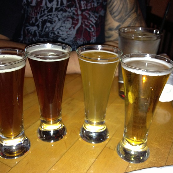 Beer Flight @ Outer Banks Brewing Station