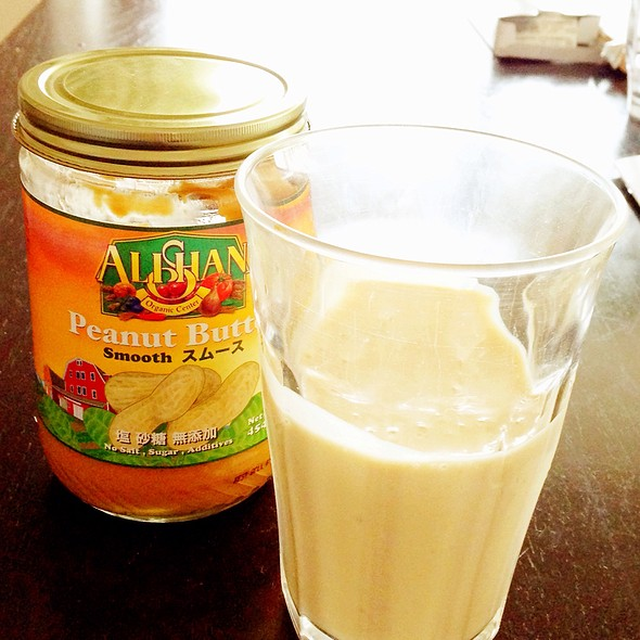 Banana Peanut Butter Smoothie @ Home