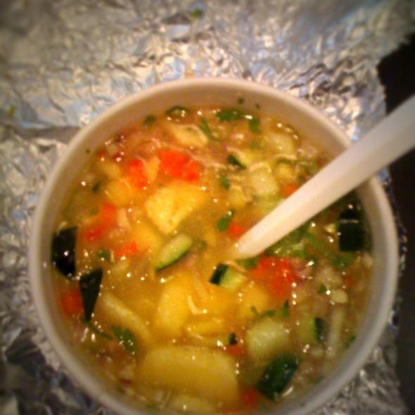 Pineapple Gazpacho @ Bistro New York