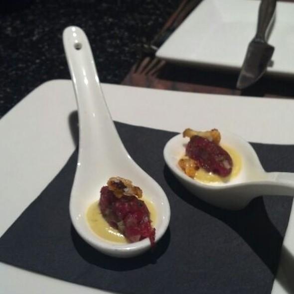Salmon Tartar Chefs Taster