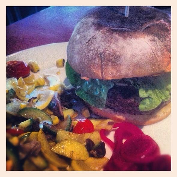Burger @ Red Pepper Taqueria