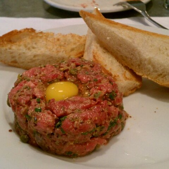 Steak Tartar - Morels French Steakhouse & Bistro (at The Grove), Los Angeles, CA