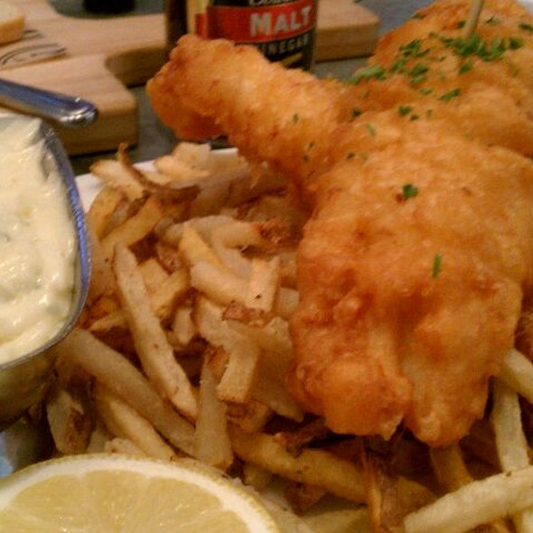 Fish & Chips - Morels French Steakhouse & Bistro (at The Grove), Los Angeles, CA