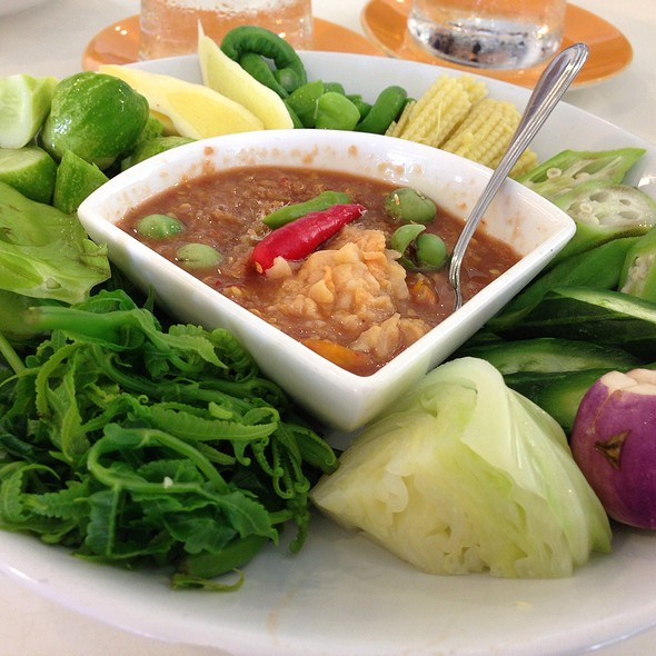 น้ำพริกกะปิระกำ @ จันทรโภชนา, จันทบุรี