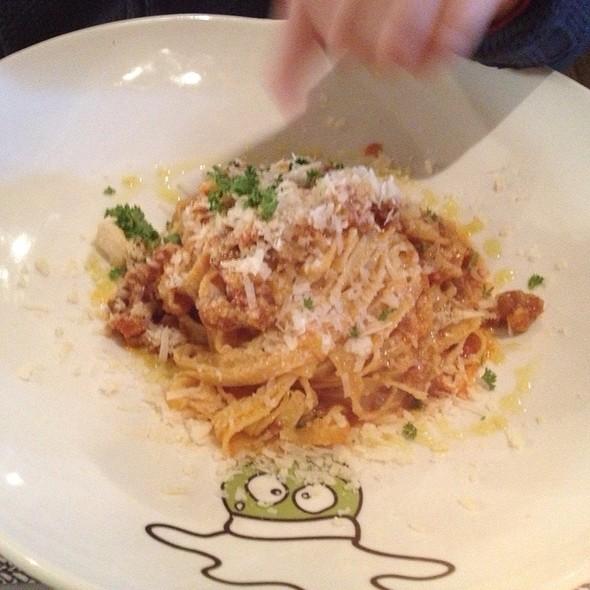 Kids Spagetti Plate