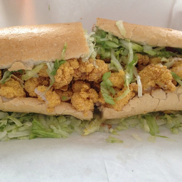 Fried Shrimp Po' Boy @ Mahoney's Po-Boy Shop