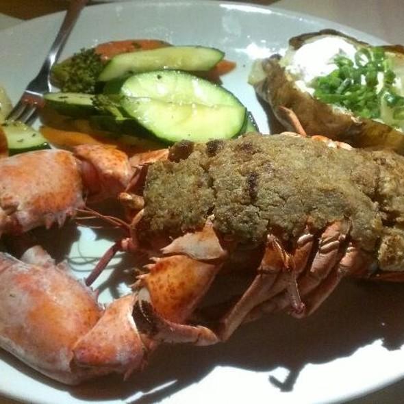 Baked Stuffed Lobster at Salt Cellar Restaurant in Scottsdale, AZ
