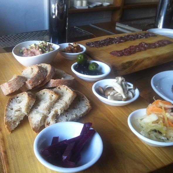 Vegetable Board @ Bellwoods Brewery