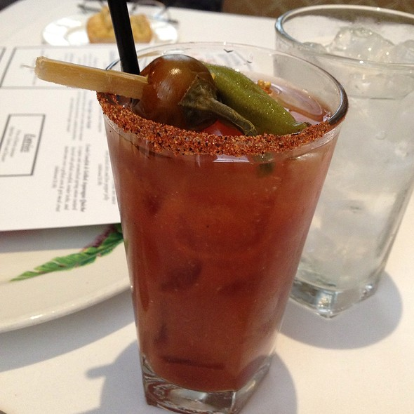 Classic Bloody Mary @ Commander's Palace Restaurant