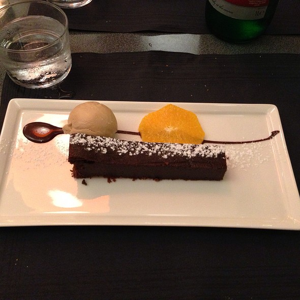 Fondant Au Chocolat @ La Table