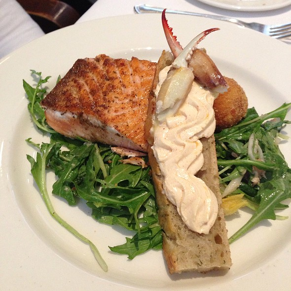 Easter Salmon & Blue Crab Nicoise @ Commander's Palace Restaurant