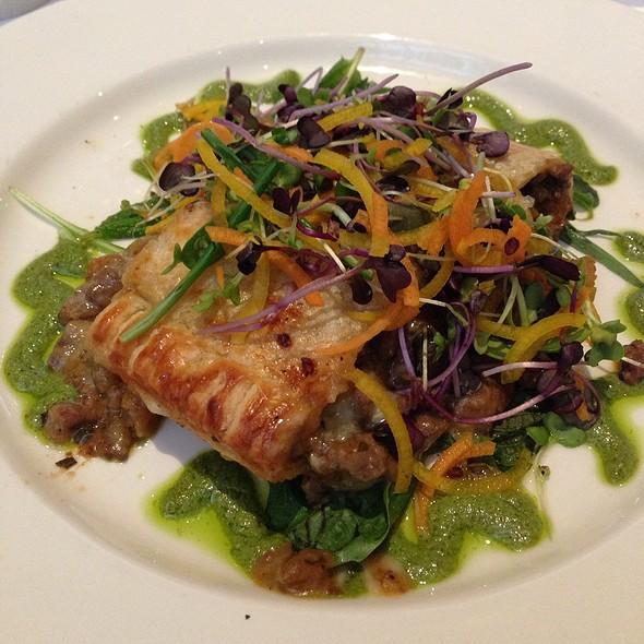 Braised Leg Of Spring Lamb Strudel @ Commander's Palace Restaurant