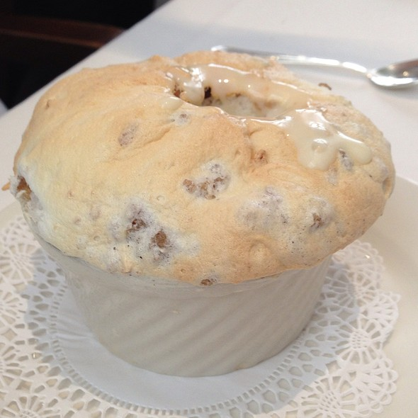 Creole Bread Pudding Soufflé @ Commander's Palace Restaurant
