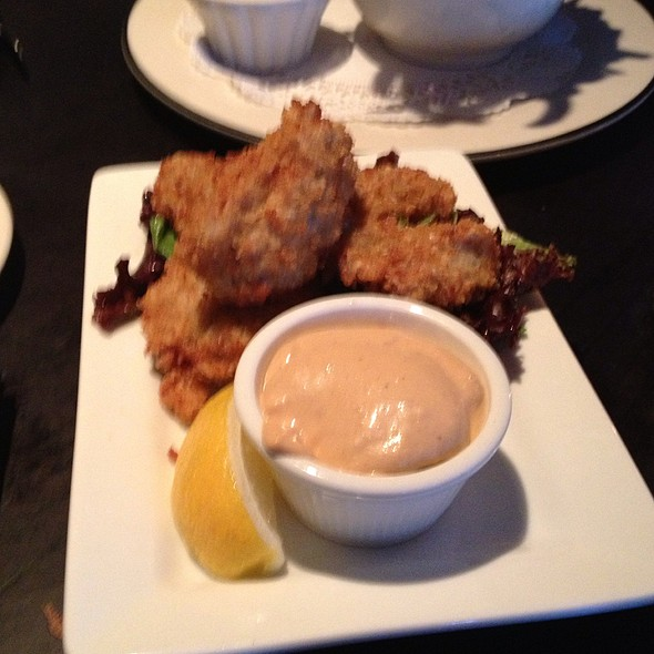 Deep Fried Oysters - Café Routier, Westbrook, CT