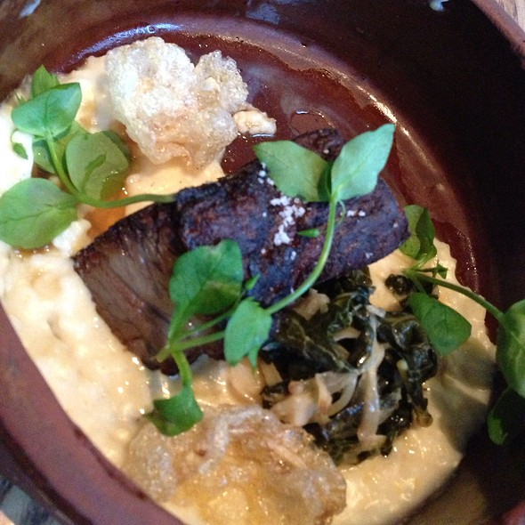 Short Ribs, Grits, Kale - Haven, Oakland, CA