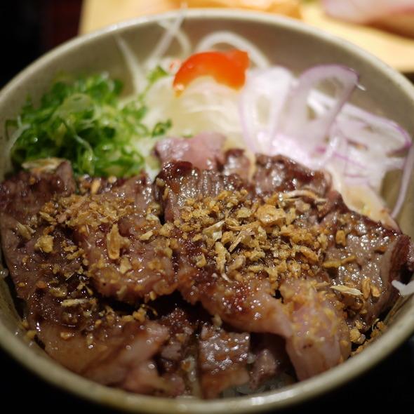 Kobe Beef Donburi @ Nami Nami