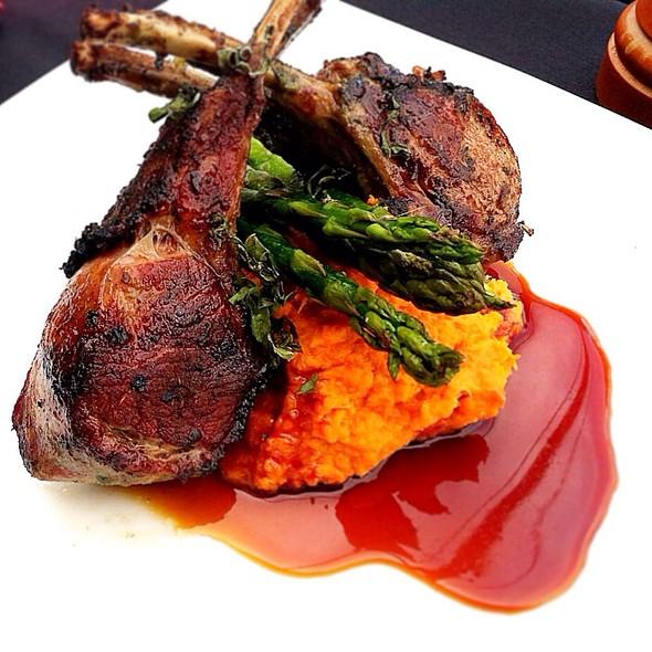 Herb Marinated Rack Of Lamb @ Signature Grill at the JW Marriott Starr Pass Resort & Spa