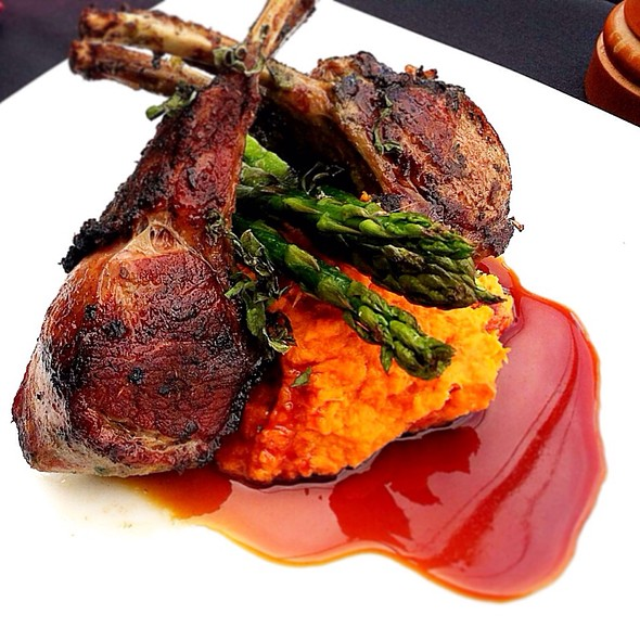 Herb Marinated Rack Of Lamb @ Signature Grill at the JW Marriott Starr Pass Resort & Spa
