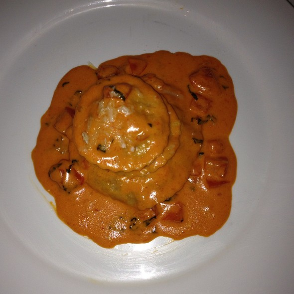 Homemade Lobster Ravioli - Pied a Terre, Miami Beach, FL