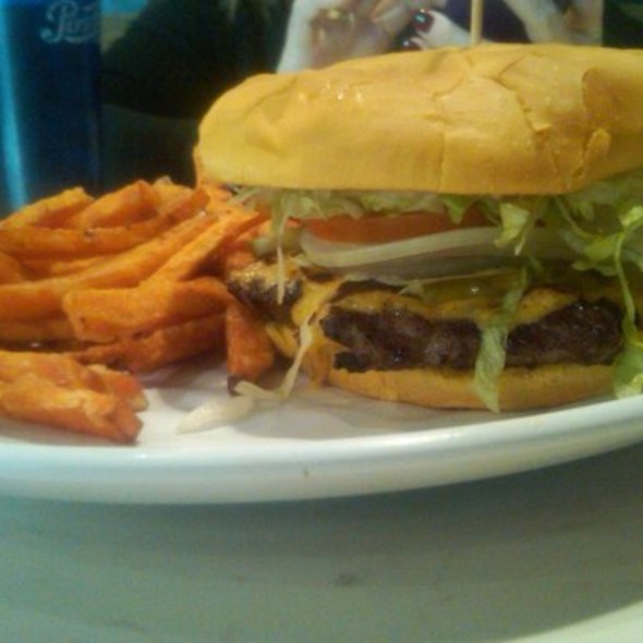 Cheeseburger And Fries @ Create Gourmet Burgers and Frozen Custard