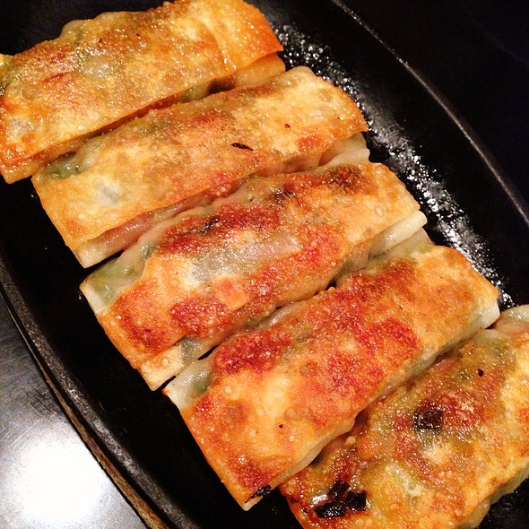 Fried Gyoza @ 鉄龍山 つきみ野店