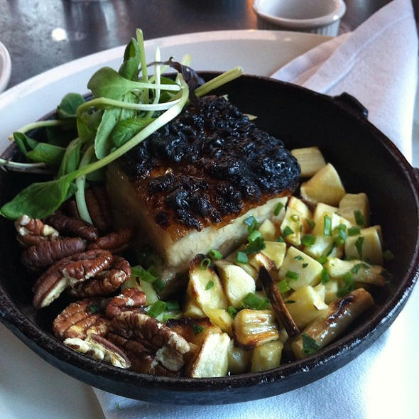 Wood Oven Roasted Heritage Pork Belly - Fore Street, Portland, ME
