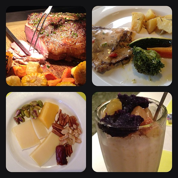 Dinner Buffet @ Midas Cafe