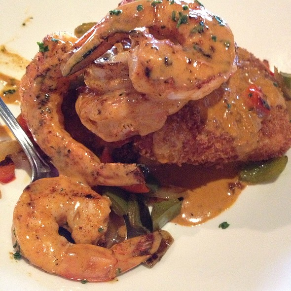 Shrimp And Creamy Corn Cake @ Bonefish Grill