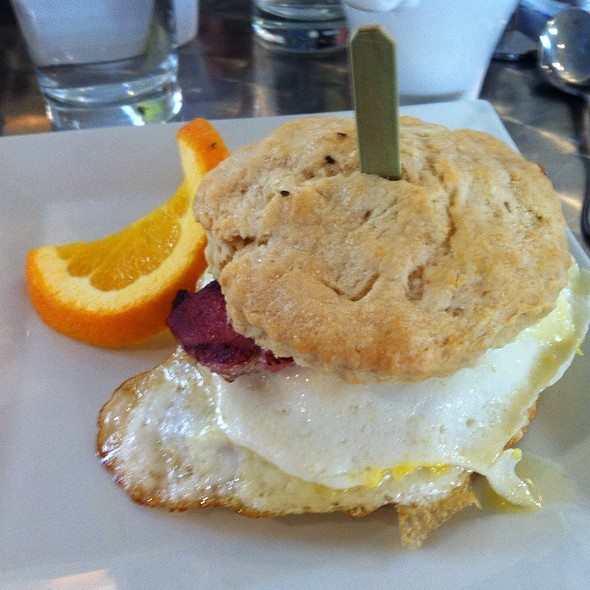 Ham, Egg And Cheese Biscuit At Bex Kitchen