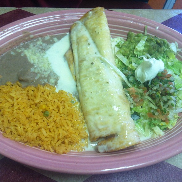 Chicken Chimichanga @ La Carreta