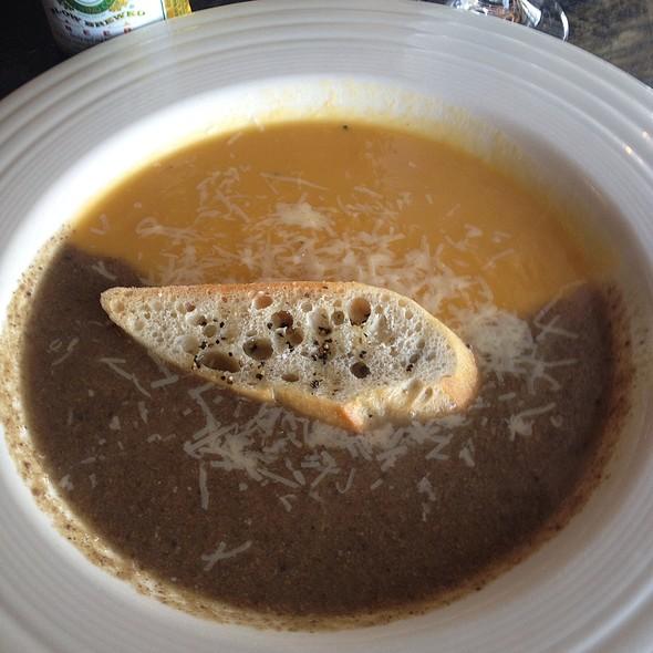 Butternut Squash/Portabella Mushroom Soup
