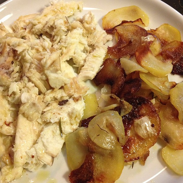 Baked Turbot With Potatoes @ ADO Home