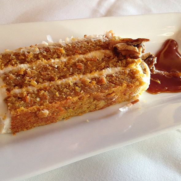 Carrot And Walnut Cake @ Joseph Decuis