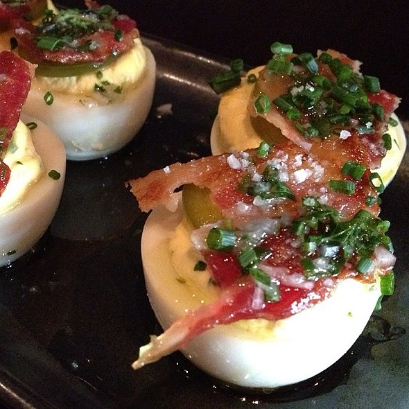 Seriously, the best deviled eggs on the planet. @ Park Tavern