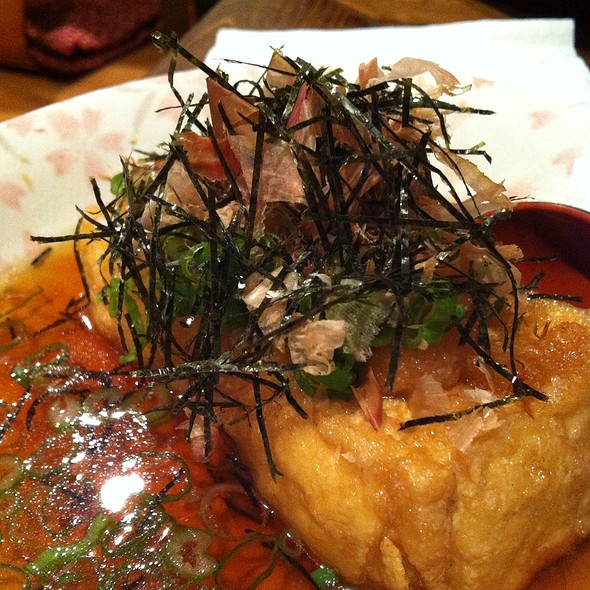 Agedashi Tofu @ Kitanoya Guu With Garlic